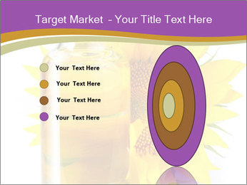 Bottle of sunflower PowerPoint Template - Slide 84