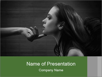 Submissiveness PowerPoint Template - Slide 1
