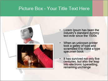 Drug addict young woman PowerPoint Template - Slide 20