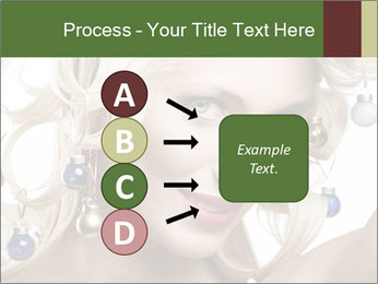 Fashion shot of a blond girl PowerPoint Template - Slide 94
