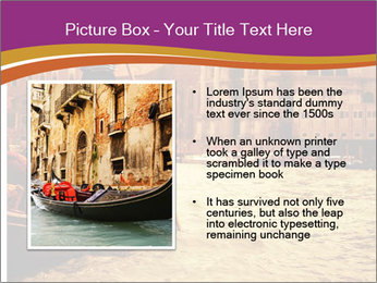 Traditional Venice ride PowerPoint Template - Slide 13