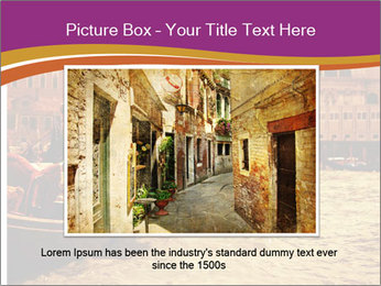 Traditional Venice ride PowerPoint Template - Slide 16