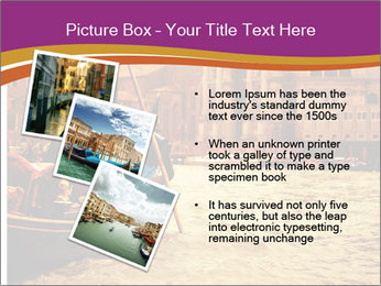 Traditional Venice ride PowerPoint Template - Slide 17