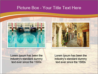 Traditional Venice ride PowerPoint Template - Slide 18