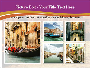 Traditional Venice ride PowerPoint Template - Slide 19