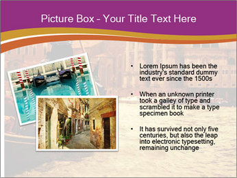 Traditional Venice ride PowerPoint Template - Slide 20
