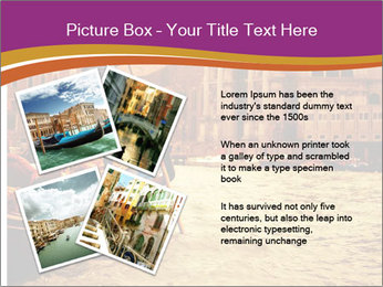 Traditional Venice ride PowerPoint Template - Slide 23