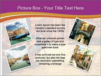 Traditional Venice ride PowerPoint Template - Slide 24