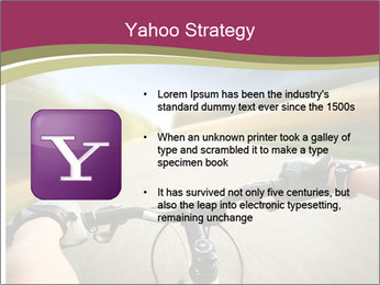 Rider driving bicycle PowerPoint Templates - Slide 11