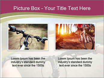 Rider driving bicycle PowerPoint Templates - Slide 18
