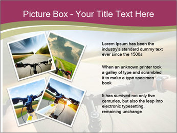 Rider driving bicycle PowerPoint Templates - Slide 23