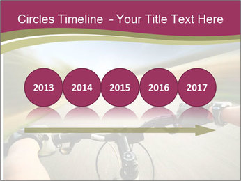 Rider driving bicycle PowerPoint Templates - Slide 29