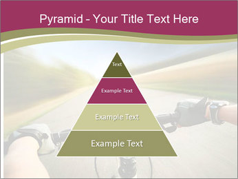 Rider driving bicycle PowerPoint Templates - Slide 30