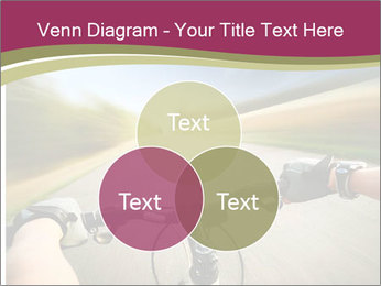 Rider driving bicycle PowerPoint Templates - Slide 33