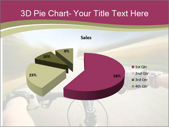 Rider driving bicycle PowerPoint Templates - Slide 35