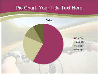 Rider driving bicycle PowerPoint Templates - Slide 36