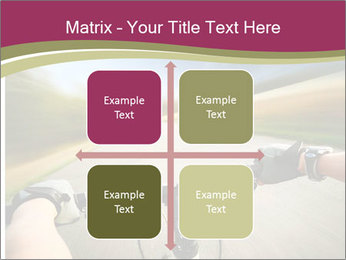 Rider driving bicycle PowerPoint Templates - Slide 37