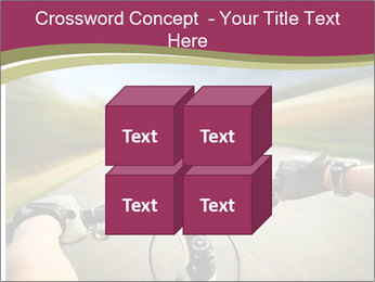 Rider driving bicycle PowerPoint Templates - Slide 39