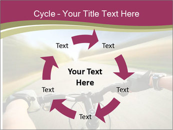 Rider driving bicycle PowerPoint Templates - Slide 62