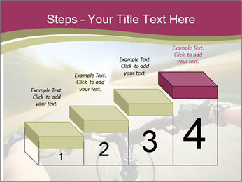 Rider driving bicycle PowerPoint Templates - Slide 64