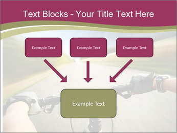 Rider driving bicycle PowerPoint Templates - Slide 70
