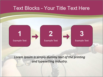 Rider driving bicycle PowerPoint Templates - Slide 71