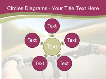 Rider driving bicycle PowerPoint Templates - Slide 78