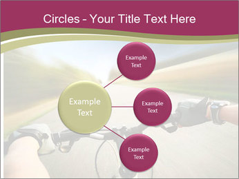Rider driving bicycle PowerPoint Templates - Slide 79