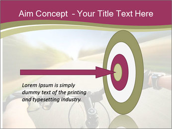 Rider driving bicycle PowerPoint Templates - Slide 83