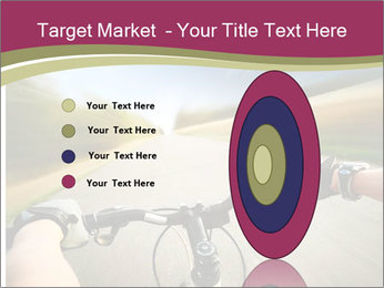 Rider driving bicycle PowerPoint Templates - Slide 84