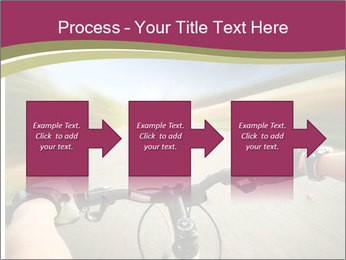 Rider driving bicycle PowerPoint Templates - Slide 88
