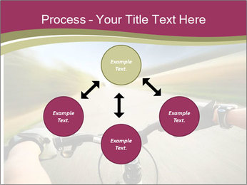 Rider driving bicycle PowerPoint Templates - Slide 91