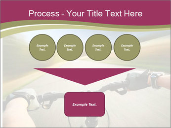 Rider driving bicycle PowerPoint Templates - Slide 93