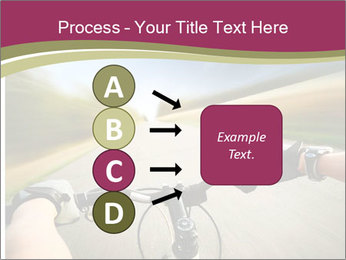 Rider driving bicycle PowerPoint Templates - Slide 94