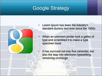 Forefront of solar panels PowerPoint Template - Slide 10