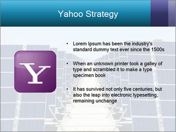 Forefront of solar panels PowerPoint Template - Slide 11
