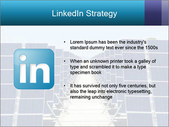 Forefront of solar panels PowerPoint Template - Slide 12