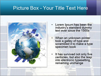 Forefront of solar panels PowerPoint Template - Slide 13