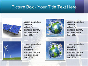 Forefront of solar panels PowerPoint Template - Slide 14