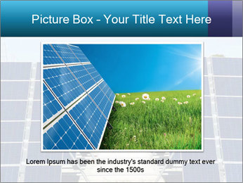 Forefront of solar panels PowerPoint Template - Slide 15