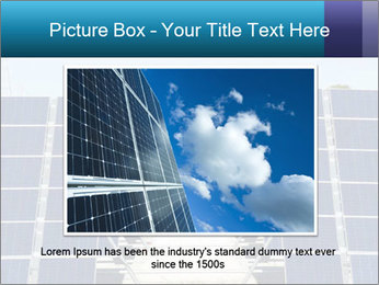 Forefront of solar panels PowerPoint Template - Slide 16