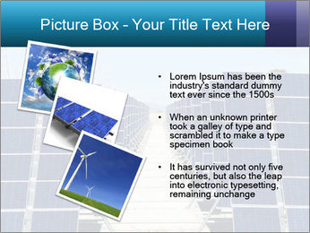 Forefront of solar panels PowerPoint Template - Slide 17