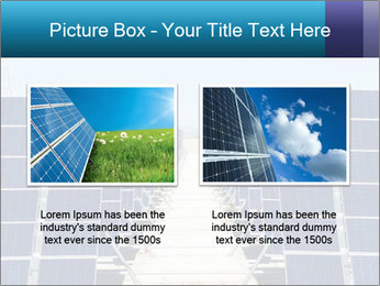 Forefront of solar panels PowerPoint Template - Slide 18