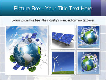 Forefront of solar panels PowerPoint Template - Slide 19