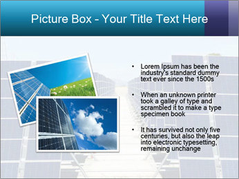Forefront of solar panels PowerPoint Template - Slide 20