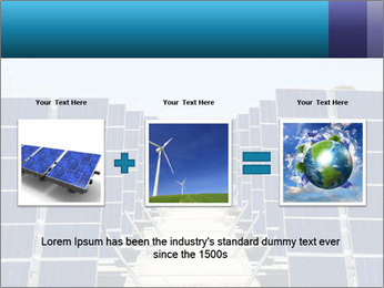 Forefront of solar panels PowerPoint Template - Slide 22