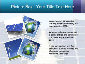 Forefront of solar panels PowerPoint Template - Slide 23