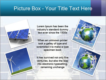 Forefront of solar panels PowerPoint Template - Slide 24