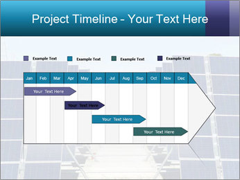 Forefront of solar panels PowerPoint Template - Slide 25