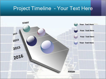 Forefront of solar panels PowerPoint Template - Slide 26
